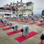 Best Boarding School in India for boys yoga session